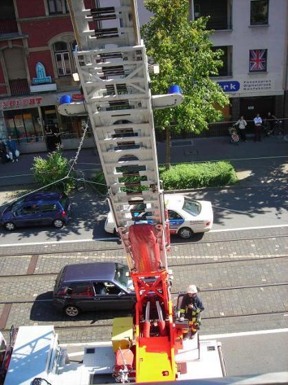 Feuerwehr - deine Helfer in jeder Lage und Höhe:-)